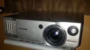 """Panasonic HD Projector and 100"""" Electric Screen in Alamogordo, New Mexico"""