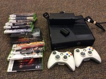 Xbox 360 with games in Okinawa, Japan