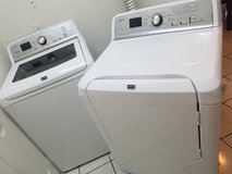Maytag Bravos XL washer/dryer set in Kissimmee, Florida