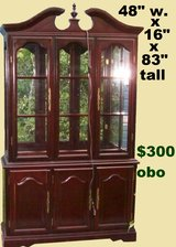 Used China cabinet in Pasadena, Texas