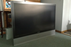 "Samsung 56"" flat screen TV in Fort Lewis, Washington"