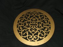 Vintage Ornate Cast Iron Heat Vent Cover / Fretwork in Lockport, Illinois