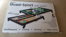 4 in 1 quad sport table games in Houston, Texas