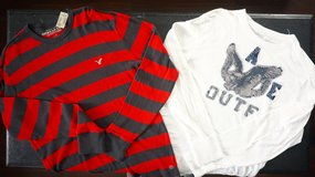 2 American Eagle Shirts - Sz Large (N36) NEW in Naperville, Illinois