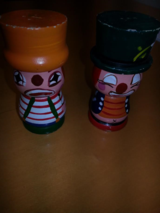 WOODEN SALT AND PEPPER SHAKERS in Batavia, Illinois