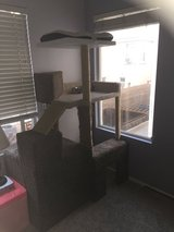 Xtra Large Cat Tree w/ Litter Box storage Inside in Temecula, California