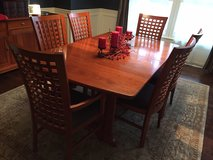 HOLIDAYS ARE COMING!! Excellent condition Pennsylvania House solid cherry wood dining room set ... in Wheaton, Illinois