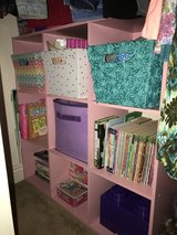 Pink Chicco cube shelf in San Diego, California