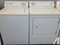 Whirlpool WASHER And DRYER ( Electric - 220 V) - in Vista, California