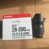 Canon 28-200mm f3.5-5.6 USM Absolutely Mint Condition in Okinawa, Japan