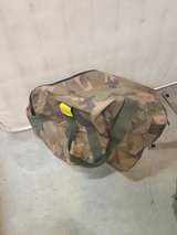 camouflage bag in 29 Palms, California