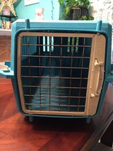 Small Pet Carrier-(19 1/4 x 13 x 11 1/2)- Pre-Owned with wheels in Fort Campbell, Kentucky
