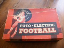 1948 Foto-Electric football game. Never used still in box in Bartlett, Illinois
