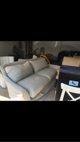 crate and barrel slip cover couch in Bartlett, Illinois