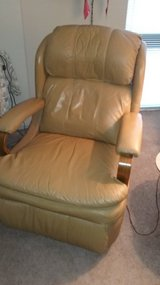 Leather recliner chair in Naperville, Illinois