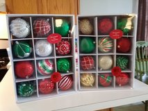 New large ornaments in Naperville, Illinois