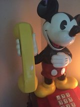 1980s Mickey Mouse phone in Fort Campbell, Kentucky