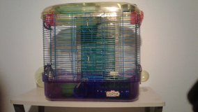 hamster cage and extras in 29 Palms, California