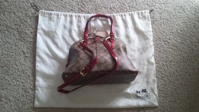Red Coach Signature Purse - NEW in Camp Lejeune, North Carolina