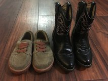 Toddler boy boots & sperry's in Fort Rucker, Alabama