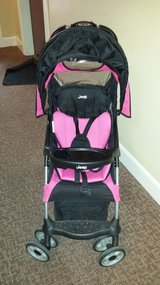 Jeep Stroller (black and pink) in Bartlett, Illinois