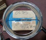 "Oldsmobile Stainless Steel Trim Rings 14"" (set of four) in Perry, Georgia"