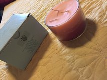 Partylite 3-wick Strawberry Fields candle with box in Okinawa, Japan