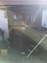 Very big bird cage made out of wood very cool on of a kind about 4 ft x6 ft in 29 Palms, California