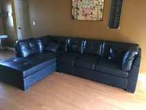 Exc black sectional in Perry, Georgia