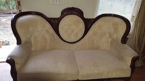 Victorian couch and two matching chairs in Beaufort, South Carolina