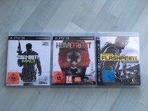 PlayStation 3 with wifi and 3 games in Ramstein, Germany