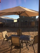 Patio set in Colorado Springs, Colorado