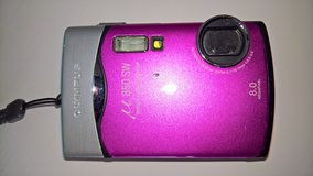 Olympus 850SW 8MP Digital Camera with 3x Optical Zoom (Pink in Ramstein, Germany