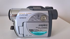 Hitachi DZ-MV780MA 1.3 MP DVD Camcorder with 10x Optical Zoom in Ramstein, Germany