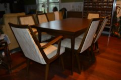 FABULOUS!!! Rare Mid Century Modern Dining Table,Chairs in Camp Lejeune, North Carolina