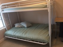 Bunk Bed, futon/twin size duo in Eglin AFB, Florida
