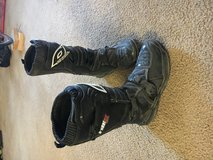 Oneal motocross boots in Fort Irwin, California