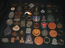 Golf Course Country Club Tour bag tag collection Metal Leather & More in Aurora, Illinois