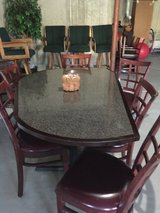 Table with chairs in Bolingbrook, Illinois