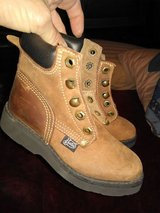 Toddler Justin work boots size 9 in Houston, Texas