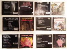 Black Sabbath 6 CDs Box Ozzy Years in Naperville, Illinois