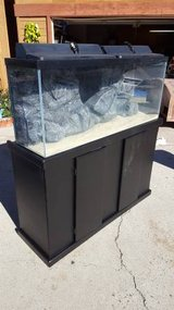 Fish Tank & Stand w/ custom 3d Background in Oceanside, California