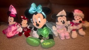 minnie mouse teddy set £15 lot in Lakenheath, UK