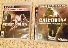 2 PS3 Call of Duty games in Alamogordo, New Mexico