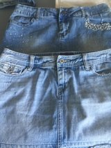 Size 9 Jean skirts in Camp Lejeune, North Carolina