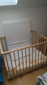 baby playpen/napping bed w/mattress in Ramstein, Germany