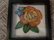 Amazing quilling pictures in Ramstein, Germany