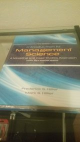 Introduction to management science 5th Ed. in Lawton, Oklahoma