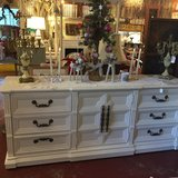 White 9 Drawer Dresser TV Console-REDUCED in Temecula, California