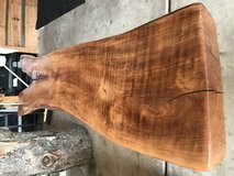 Cherry wood coffee table / bench NEW in Naperville, Illinois